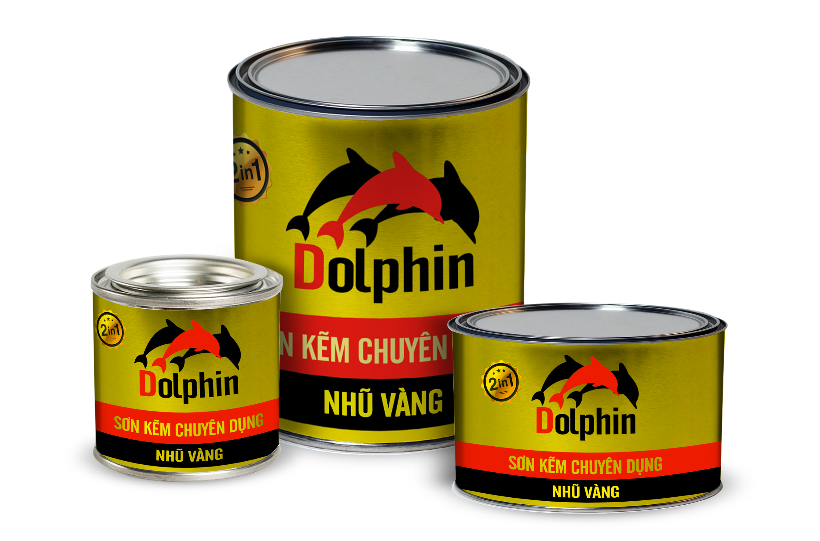 Dolphin nhũ vàng 808